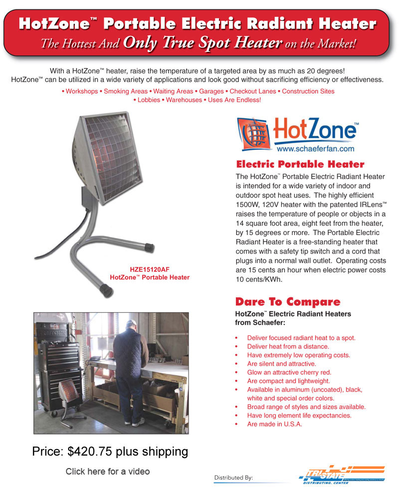 Hot Zone Patio Heaters